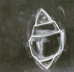 Abstract seashell drawing